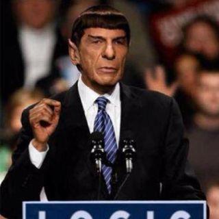 """""""Spock for President 2012"""""""