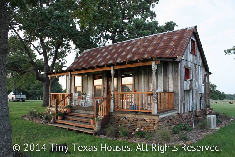 Here At Tiny Texas Houses Weu0027ve Been Building Tiny Houses For Clients For  Over Six Years Using Nothing But Salvaged Materials From Locally Sourced  Old ...