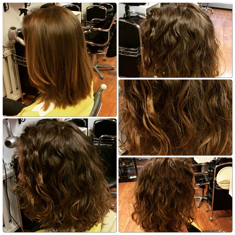 Permanentti Laineet Ja Kiharat Permanent Waves And Curls