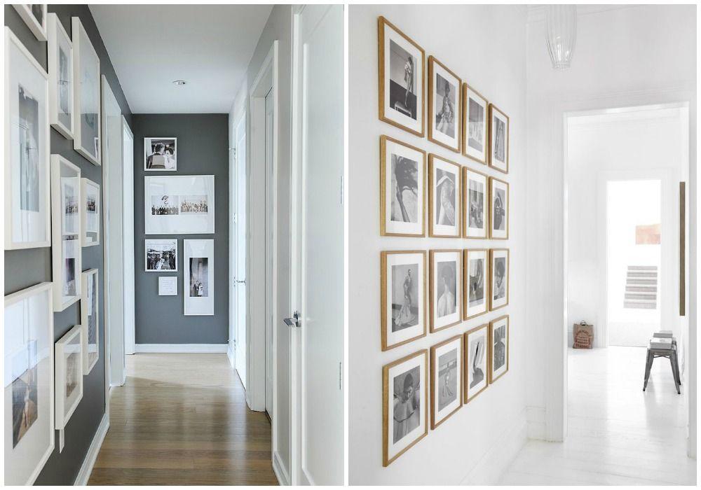 El pasillo es un espacio difícil de decorar, aparte de ser funcional