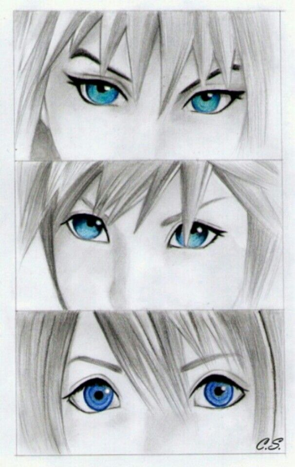 Kingdom Hearts Sora Riku and Kairi | Kingdom Hearts | Pinterest | Dibujo