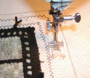 How To Finish The Edge Of A Hooked Rug Fold Forward Method Step 1