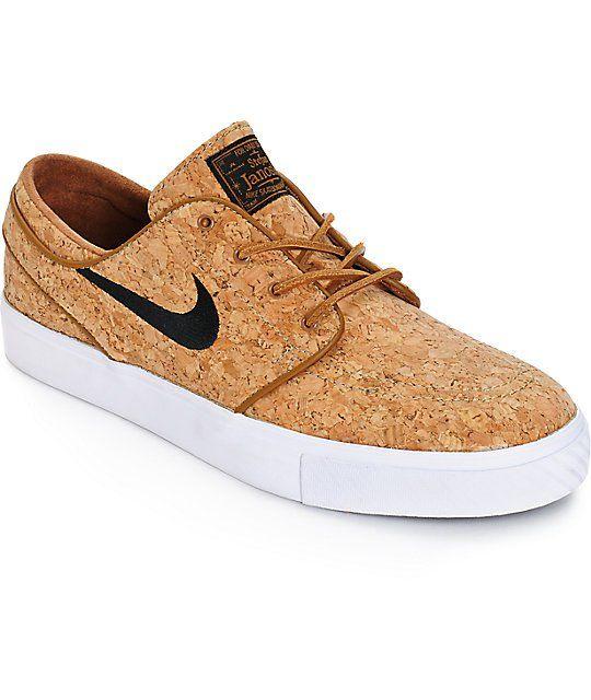 Nike Sb Zoom Stefan Janoski Cork Elite Ale Brown Skate