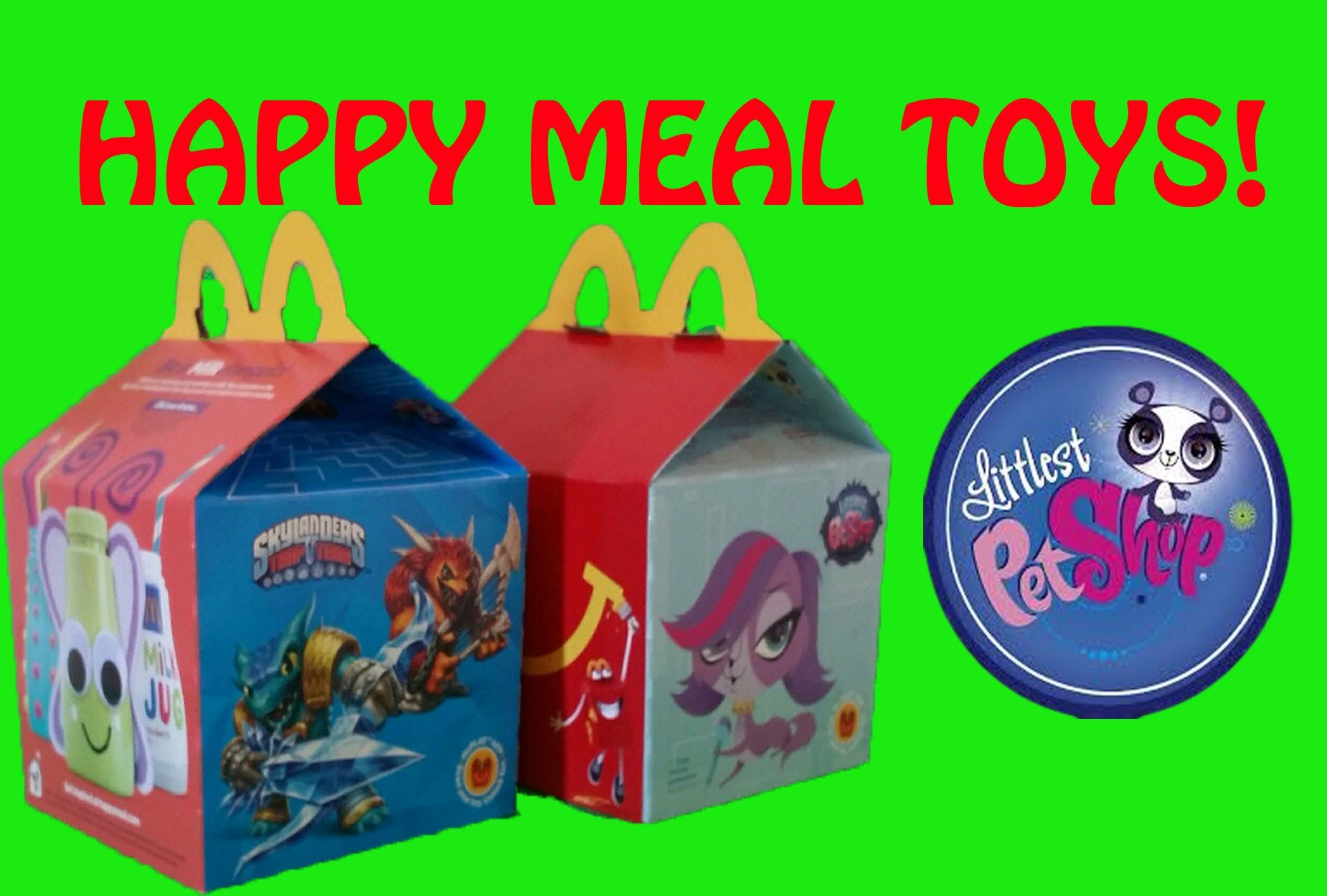 2015 Littlest Pet Shop McDonalds Happy Meal collectibles. 6 in all and we've collected all 6! We're opening them and putting each one together to show you guys just how adorable these LPS cuties are!!  https://youtu.be/TVaL31Je5gM https://youtu.be/TVaL31Je5gM https://www.youtube.com/watch?v=owt_zwP91wQ