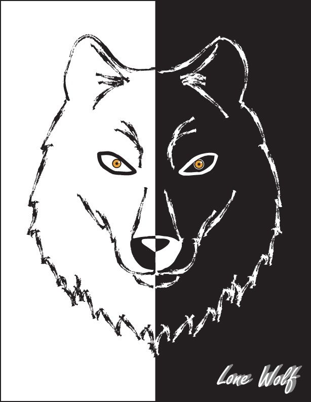 """""""Lone Wolf""""Design by R. Curry"""