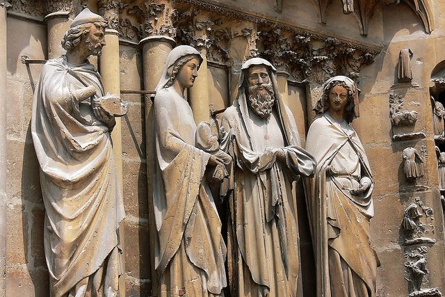 Sculpture from Reims Cathedral | French sculpture, Reims cathedral ...