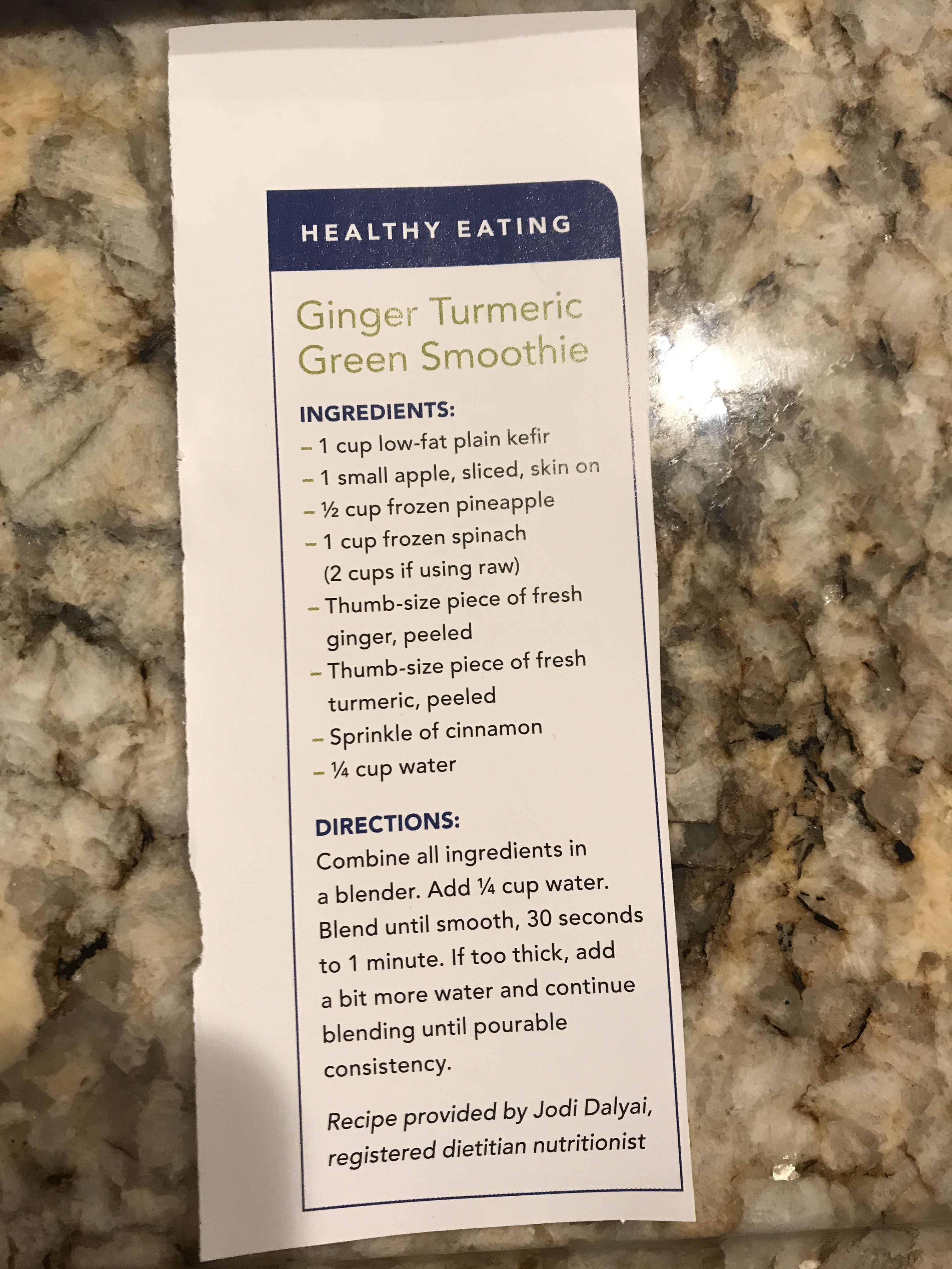 Ginger turmeric green smoothie how to eat ginger