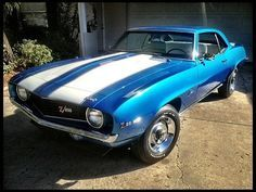 1969 Chevrolet Camaro Z28 | T205 | Kissimmee 2013 | Mecum Auctions