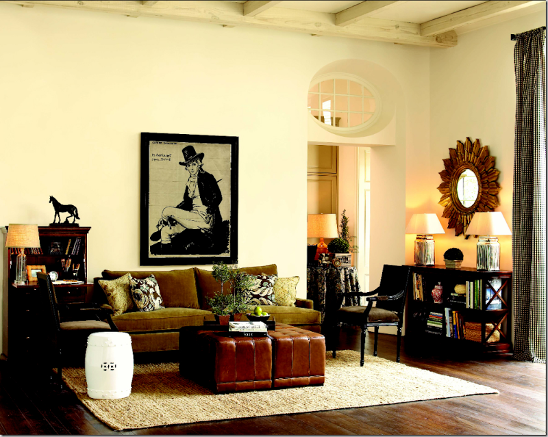Ballard Design Living room by James Swan
