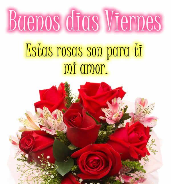 Frases Bonitas De Buenos Dias Viernes Poemas De Amor Frases Con