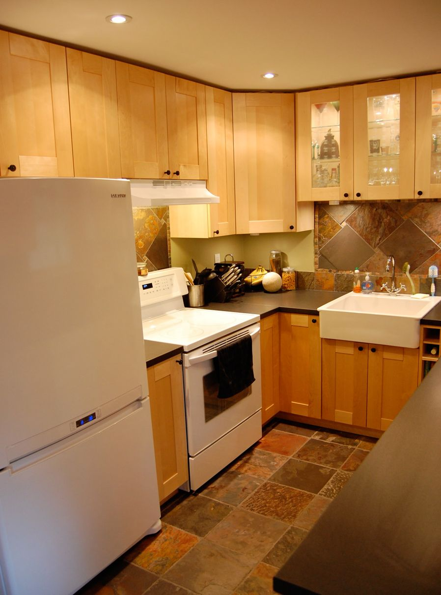 Small Galley Kitchen Designs | My Home Improvement for the Cabin ...