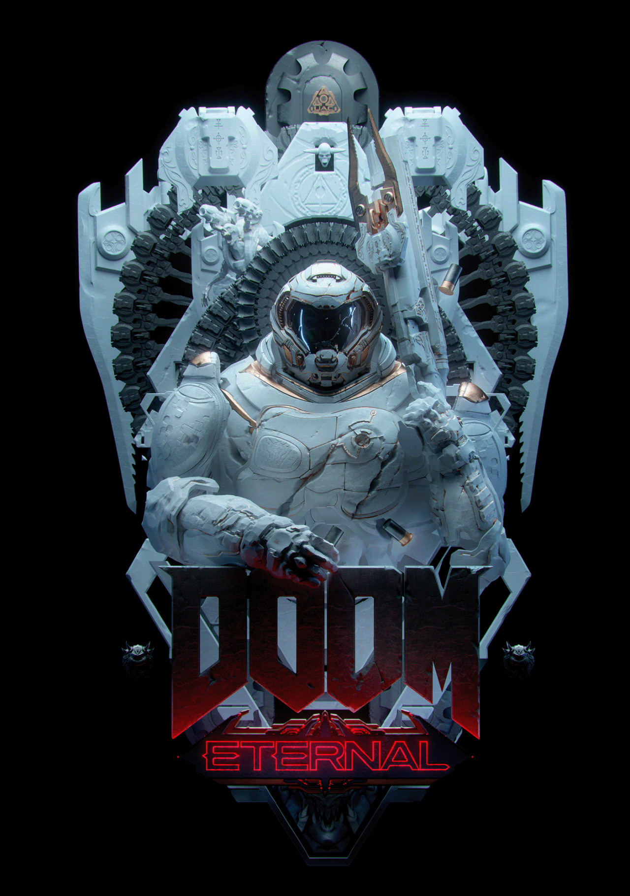 Pin By Xy On Doom Doom Game Doom Videogame Art