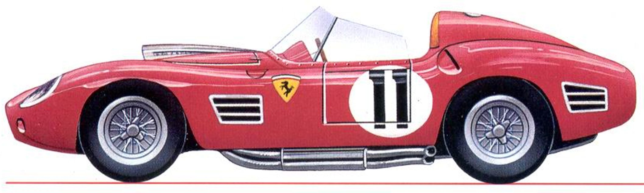 Ferrari 250 testa rossa 1960 car side views pinterest ferrari 250 testa rossa 1960 vanachro Gallery