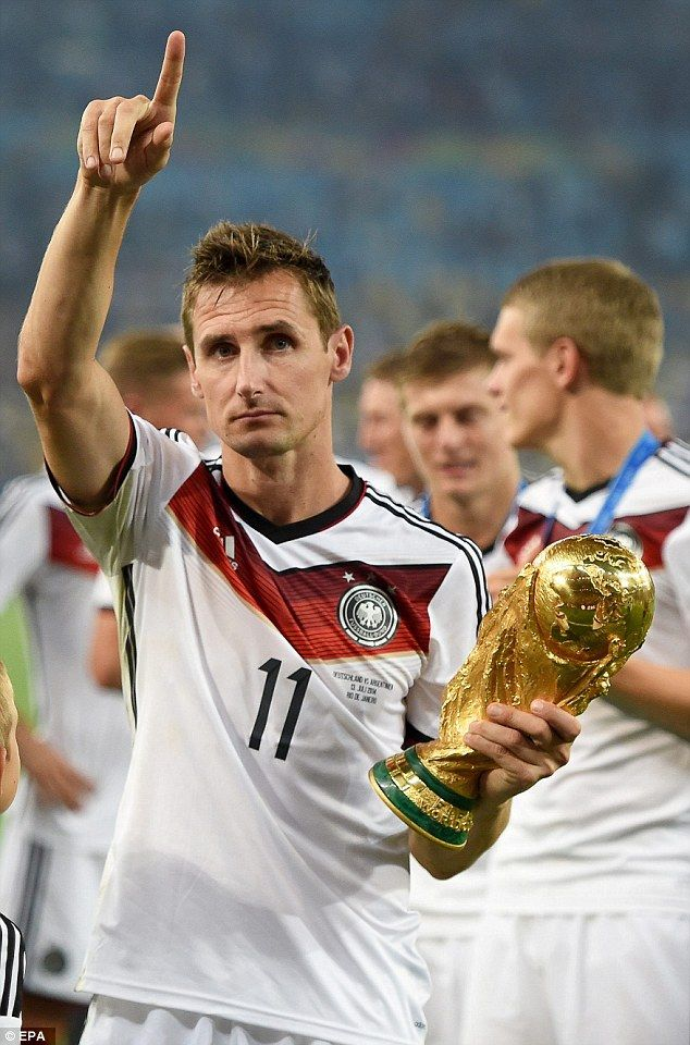 Miroslav Klose Tribute Quiet Superstar Who Became German Legend Miroslav Klose Sports Celebrities Soccer Inspiration