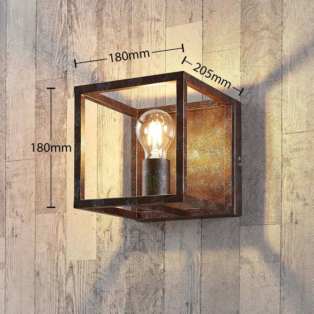 Landhaus Wandleuchte Von Lindby Braun Lampen Wandbeleuchtung