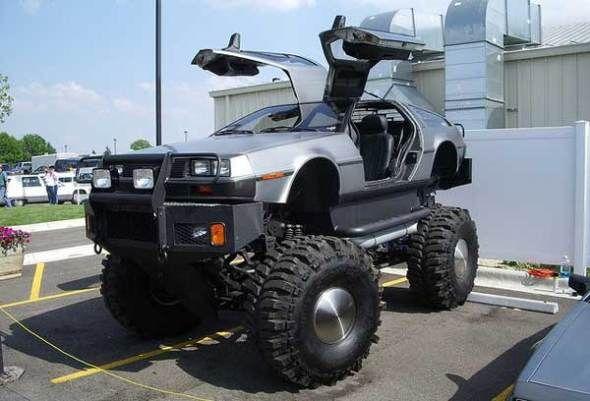 Delorean Monster Truck Truck Trucks Cars Monster Trucks