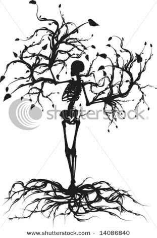 Skeleton Tree Tattoos I Need Dead Tree Tattoo Tree Of