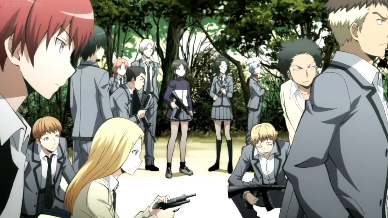 Kill squad (With images) Assasination classroom