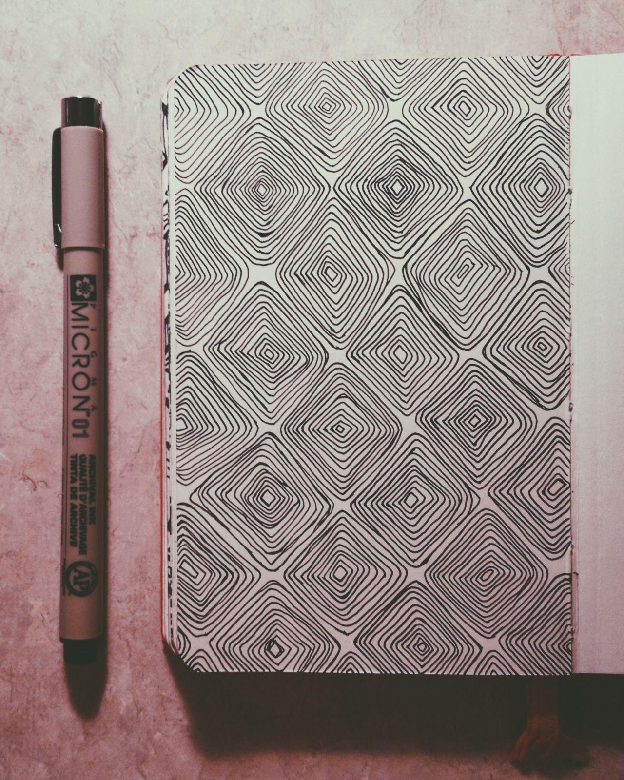 Pattern How To Draw It Pinterest Zentagle Kresba Tuzkou A Kresby