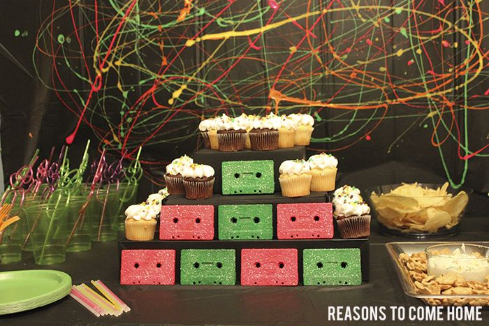 90u0027s Party - Reasons to Come Home · 90s Party Decorations90s Theme ... & 90u0027s Party - Reasons to Come Home | Chris 40th bday | Pinterest ...
