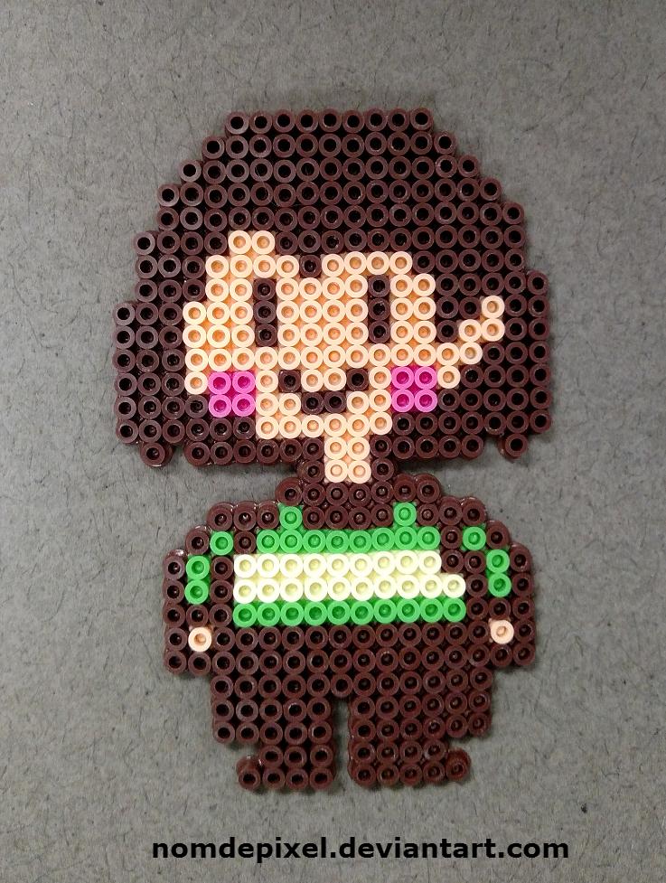 pixel art undertale chara