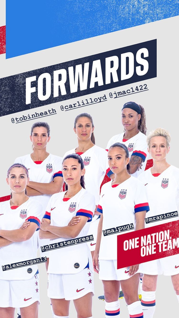 Uswnt Fwd Wwc Roster Drop May 2 2019 Usa Soccer Women Usa Soccer Team Uswnt Soccer