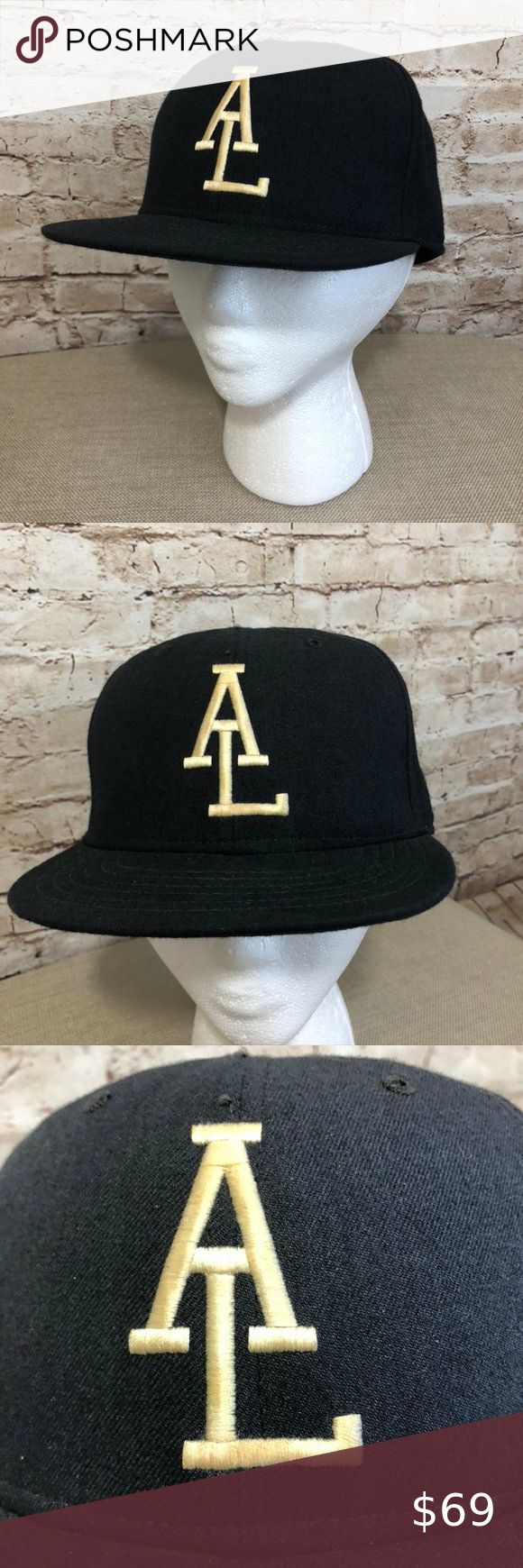 Vtg New Era Umpire Mlb Hat Baseball Cap 80s Vintage New Era American Major League Baseball Umpire Cap Hat Mlb 80s Usa Fitted In 2020 Baseball Hats Fitted Hats New Era