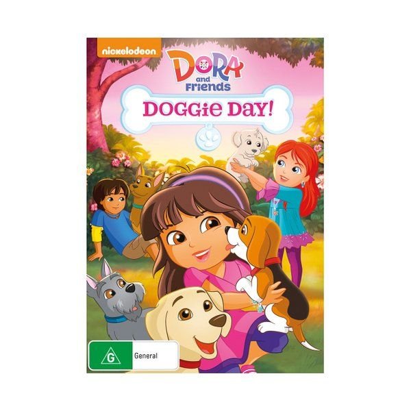Collection of animated adventures following Dora, who is now growing older and studying at a school in the city of Playa Verde. Dora and her friends, including Kate, Naiya, Emma, Alana and Pablo, all go to the same school and love discovering new things about the world while on adventures together.  Product: Dora and Friends: Doggie Day! [DVD] Format: DVD Catalogue No: AUDVD9874 Studio: Paramount Certification: G Release Date: 2015-09-09 Region: Region 4 Duration: 89 minutes Discs: 1 disc(s) Pro