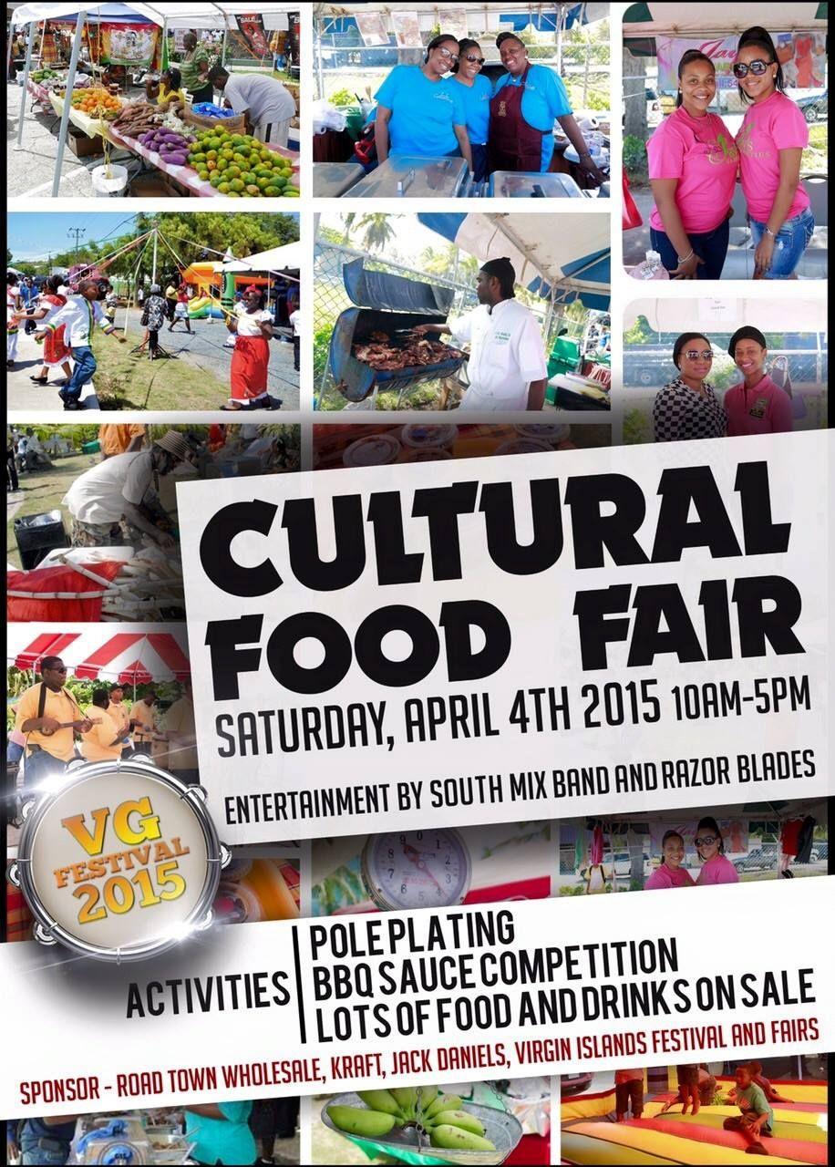 Today April 4th 10am 5pm Cultural Food Fair Spanish Town Market Square Virgingorda Bvi Spanish Towns Culture Spanish