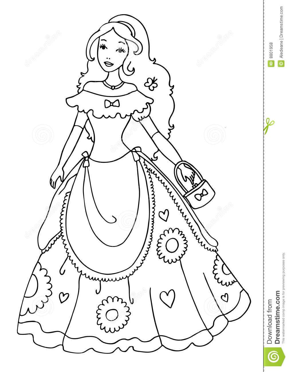 Princess Coloring Pages Free   COLORING PAGES FOR FREE   Pinterest ...