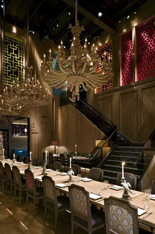 Restaurant Lounge New York Design Chinese Menu