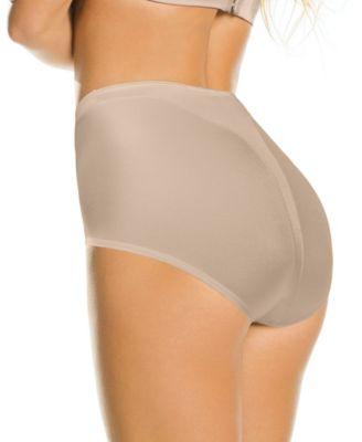 a62d2e77f Leonisa Women s Light Tummy-Control Hi Cut Thong-Silhouette Panty 01214 -  Black XXL