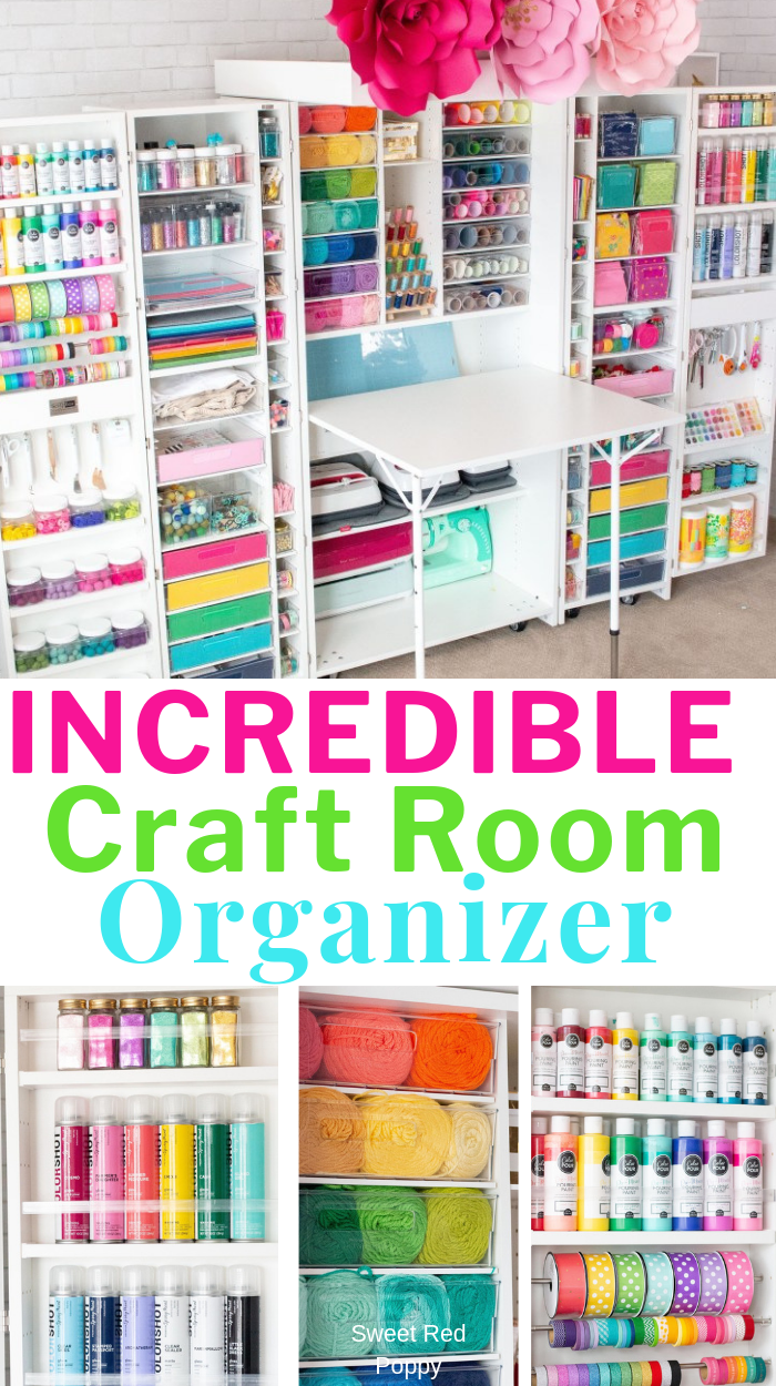 The Ultimate Scrapbox DreamBox Craft Room Organizer #craftroommakeovers