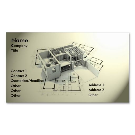 Modern Architecture Business Card Zazzle Com Modern Business