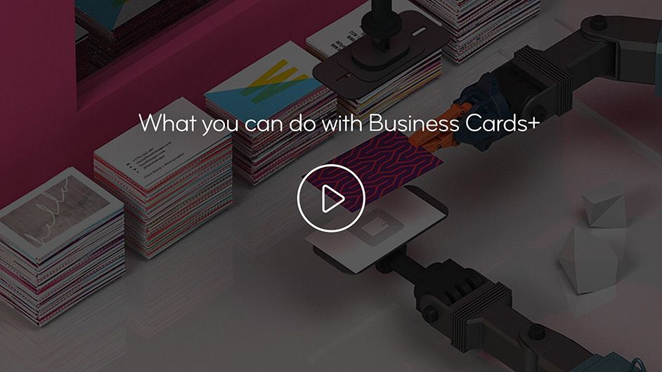 NFC Business Cards+ by moo.com | MOO You can embed a playlist that ...