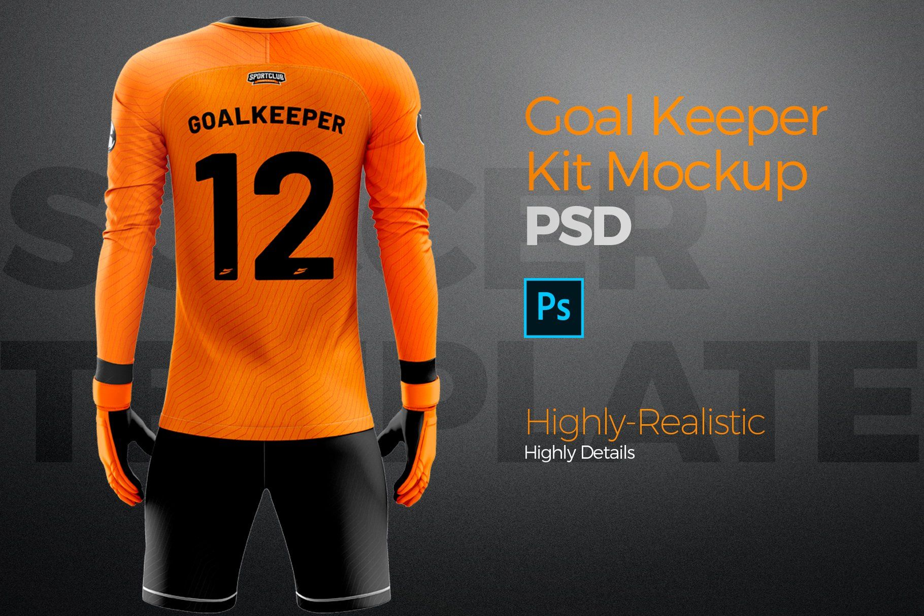 Download Goalkeeper Kit Mockup Psd Template Ad Spon Front Template Display Efficient Mockup Psd Goalkeeper Kits Psd Templates