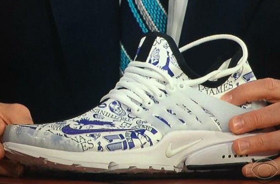 ... sweden phil knight gifts stephen colbert custom nike air prestos that  symbolize his life u2022 kicksonfire 2852dc5df
