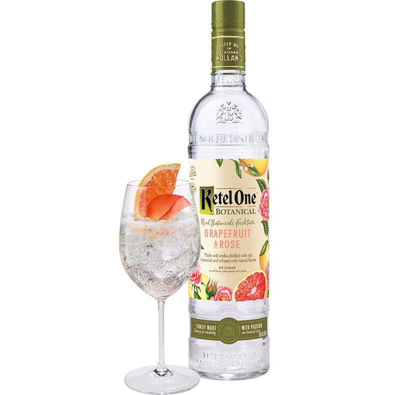 Ketel One Botanical Grapefruit And Rose Vodka 750ml In