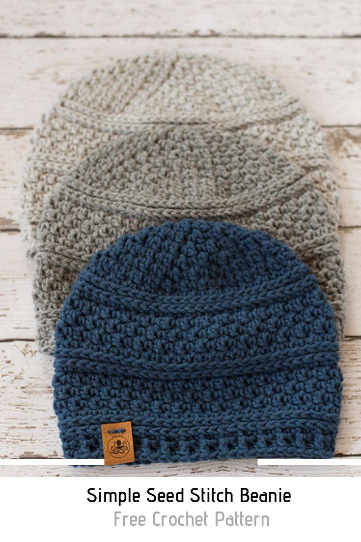 Quick And Easy Crochet Men S Hat Free Pattern Knit And Crochet Daily Crochet Mens Hat Crochet Hats Crochet Beanie Pattern