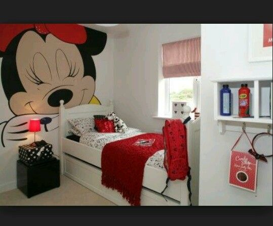 Minnie Mouse Diy Decoracao Quarto Pequeno Quarto Da Minnie