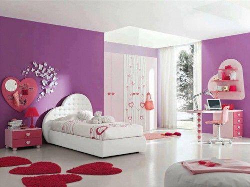 Belles Chambres Pour Les Filles Decor Interieur Deco Chambre