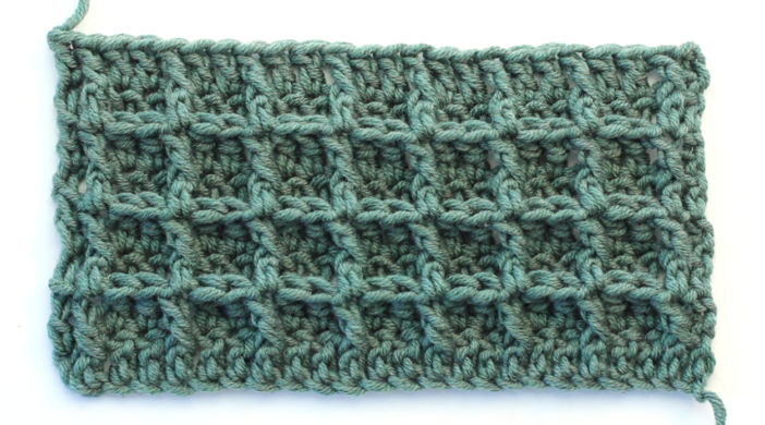Crochet The Waffle Stitch Baby Blanket | crochet | Pinterest | Ganchillo