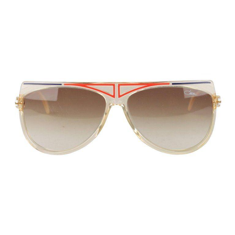 9f4c05143f YSL Yves Saint Laurent 545 Vintage 1960s Oversized Frame Large Sunglasses