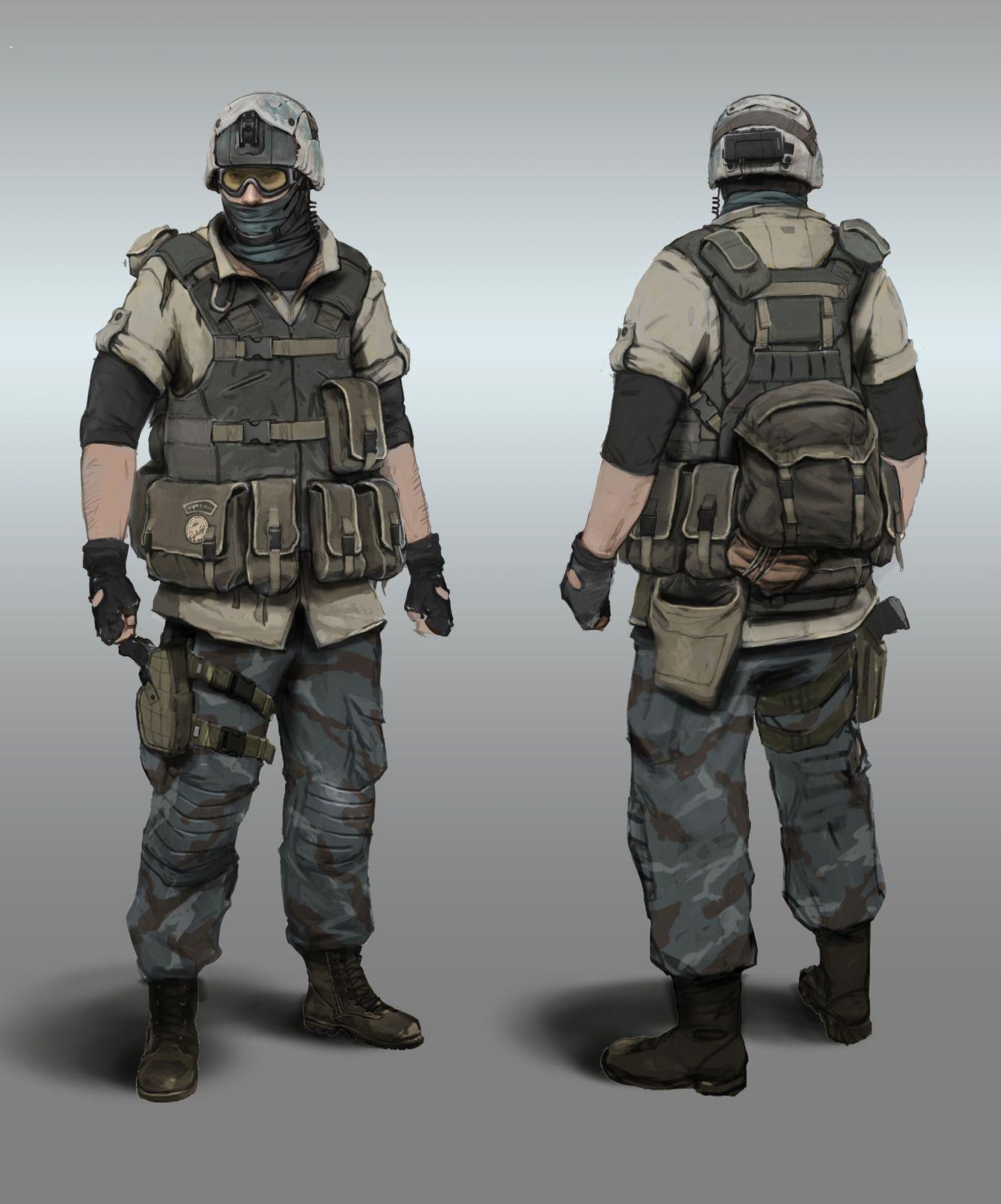Ghost Recon Future Soldier. | Near Future. | Pinterest | Future ...