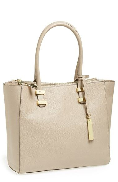 Vince Camuto Mandy Leather Tote Available At Nordstrom