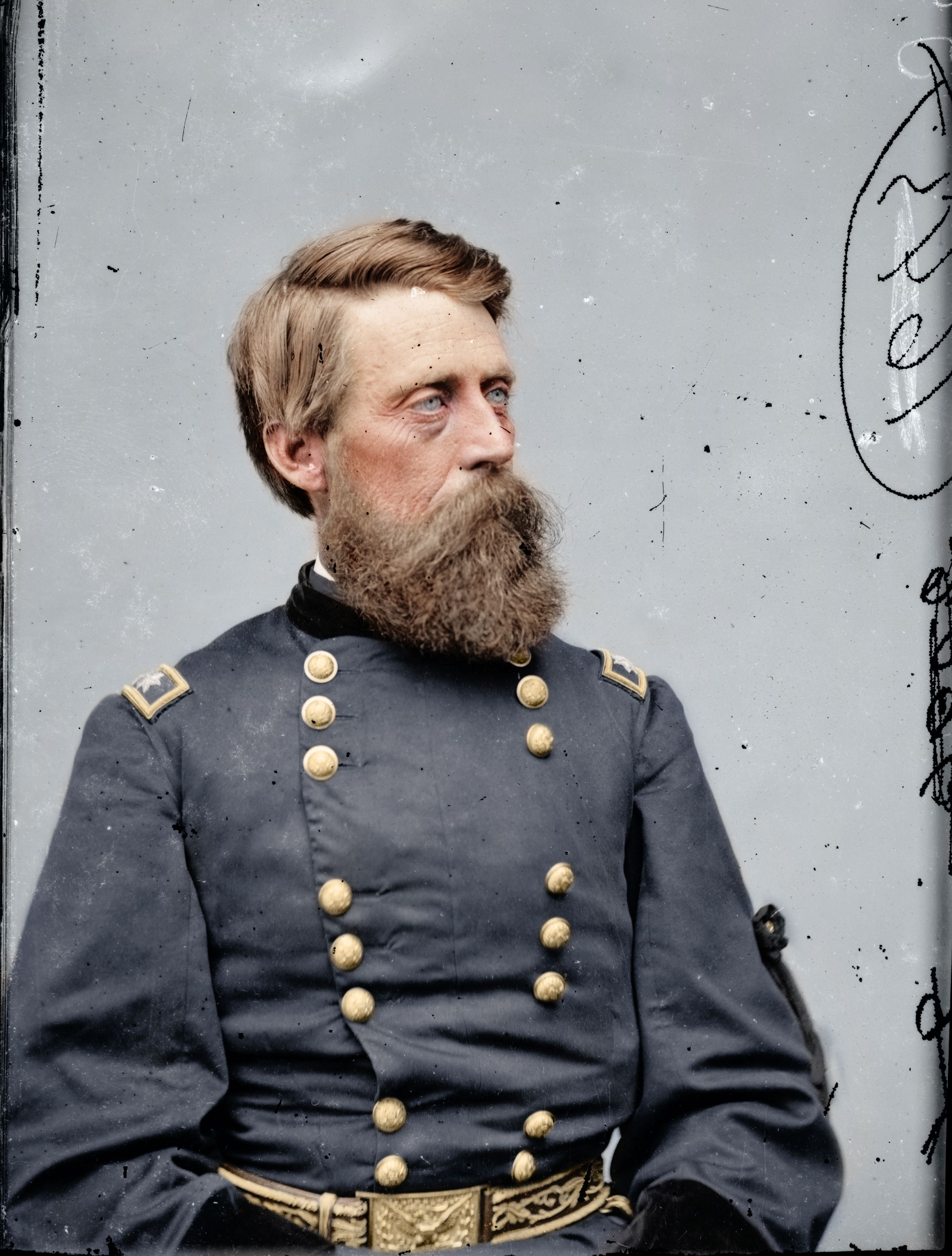 Major General Jefferson C. Davis - His accomplishments were overshadowed by him killing a fellow General, namely Major General William 'Bull' Nelson, in the autumn of 1862.
