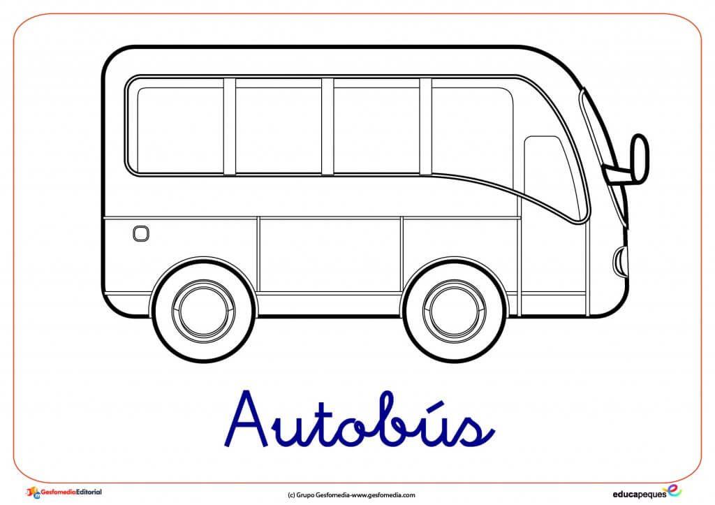 Dibujos De Transportes Para Colorear Transporte Fichas Y