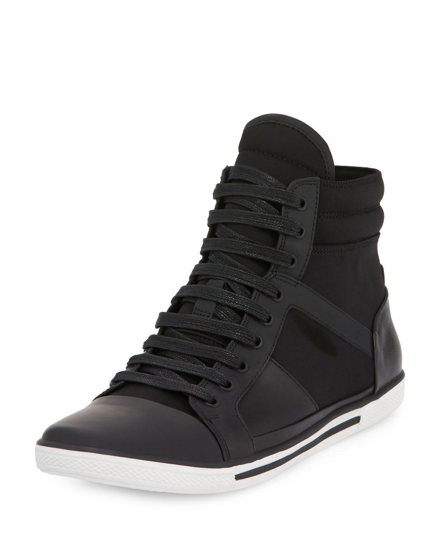 Kenneth Leatherneoprene Sun Top Cole Down Sneaker High yv8nONwm0