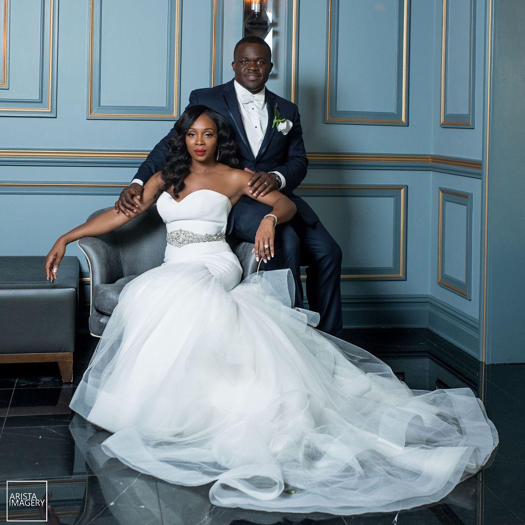Teal and white wedding dresses  Congrats to Nkechi  Ikenna on their whitewedding