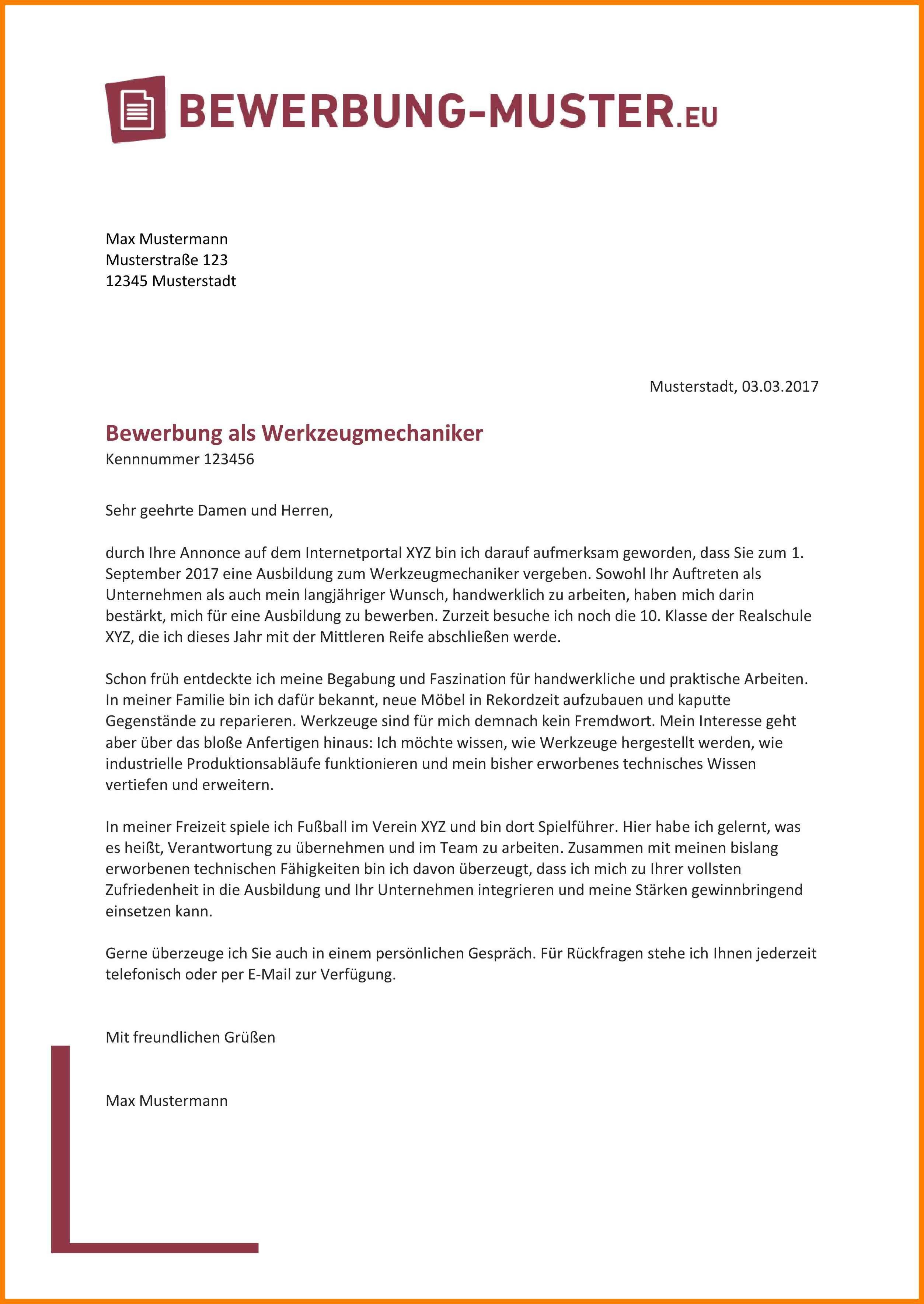 Einzigartig Bewerbung Nach Ausbildung Muster Briefprobe Briefformat Briefvorlage Bewerbung Schreiben Lebenslauf Vorlage Schuler Bewerbungsschreiben Muster